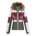 Dámský hardshell plněný kabátek Normy L