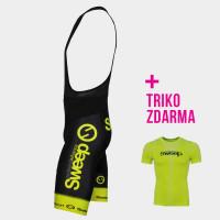MONZA 3Q dámské sportovní 3/4 elasťáky s bambusem